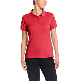 VAUDE Marwick II Polo Shirt Women flame